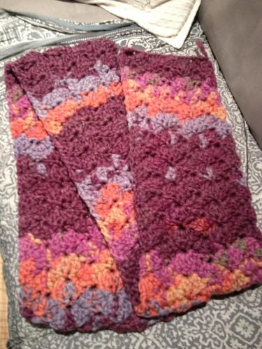 Crochet Scarf http://www.acraftyginger.com