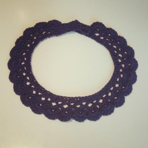 Crochet Necklace http://www.acraftyginger.com