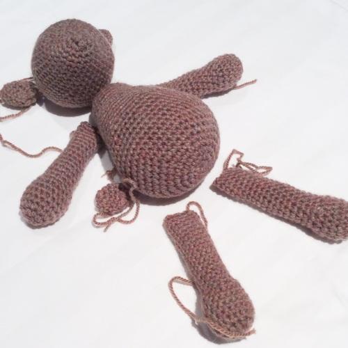Crochet Bear Amigurumi http://www.acraftyginger.com