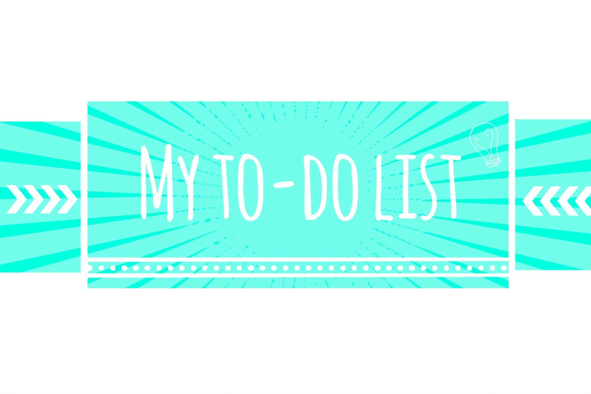 My To-Do list http://www.acraftyginger.com