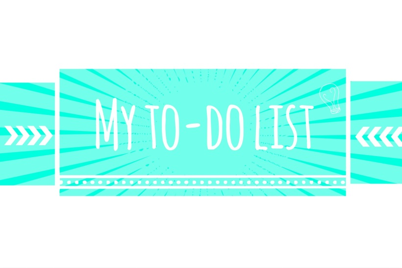 My To-Do list http://www.acraftyginger.com