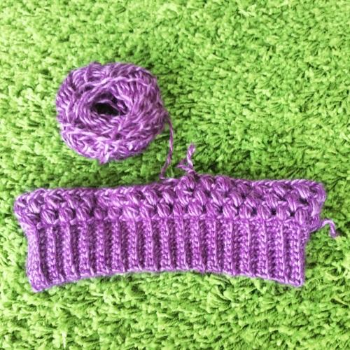 Crochet Purple Hat http://www.acraftyginger.com