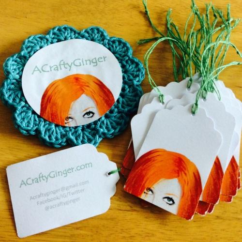 #crochet #badge #acraftyginger #blogtacular