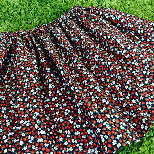 cherry skirt #acraftyginger