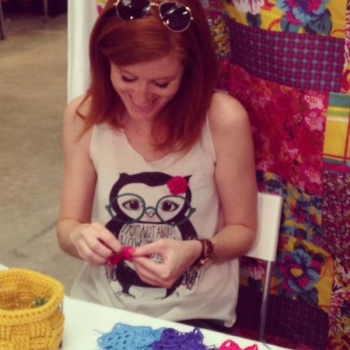 #backyard #market #acraftyginger #crochet #garland